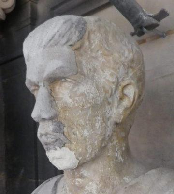 La statue de Saint-Augustin le Vieux