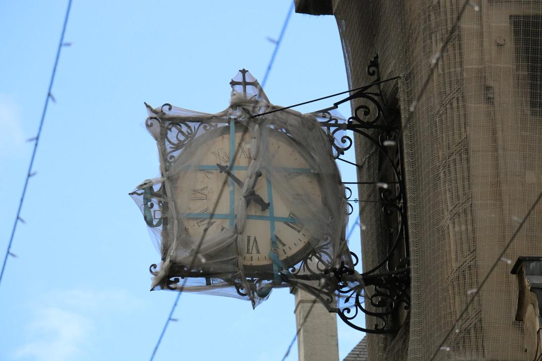 Urgence : restaurer l'horloge sur l'Ile Saint-Louis (IVe)