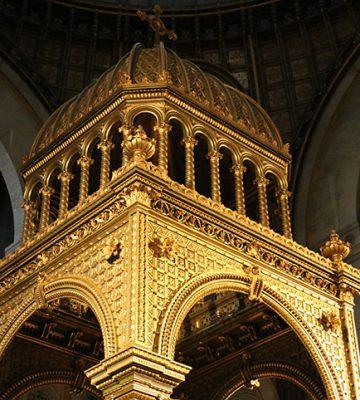 Un baldaquin flamboyant pour Saint-Augustin