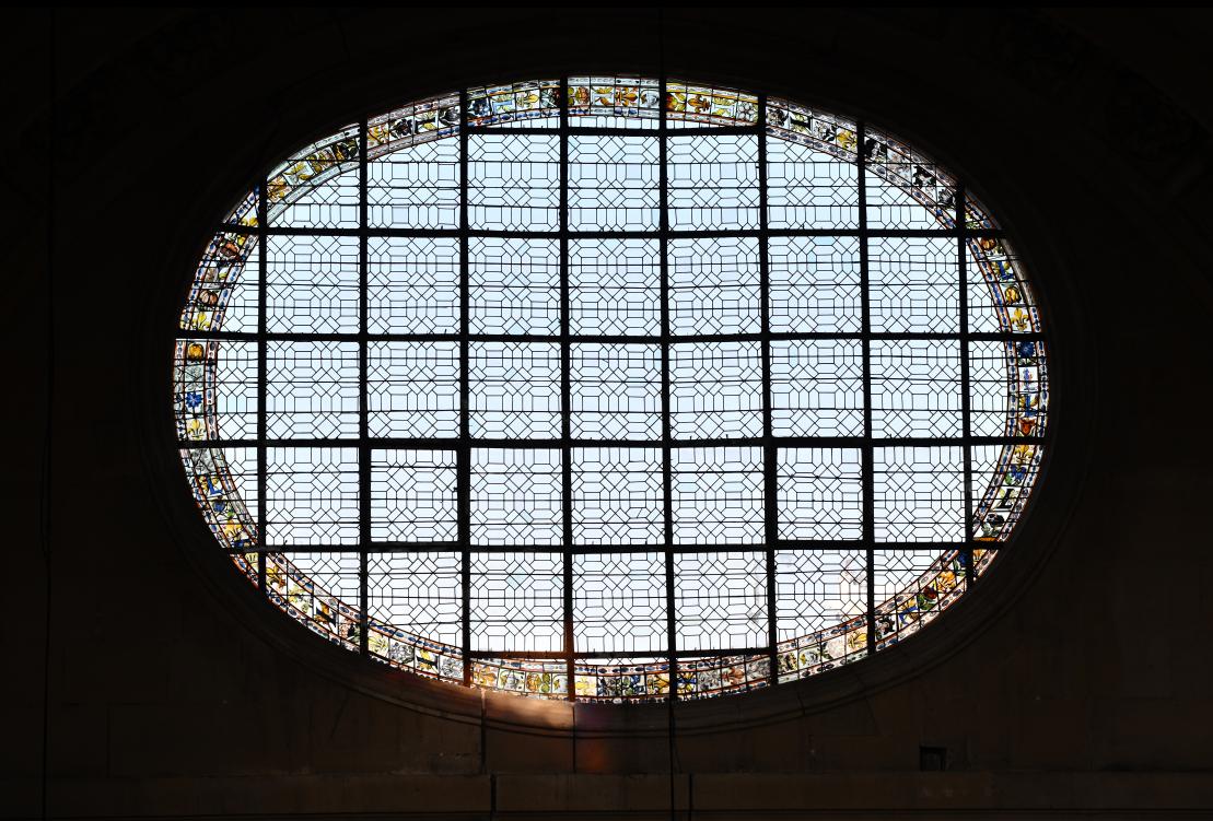 Restauration des vitraux baroques de l'église Saint-Paul-Saint-Louis