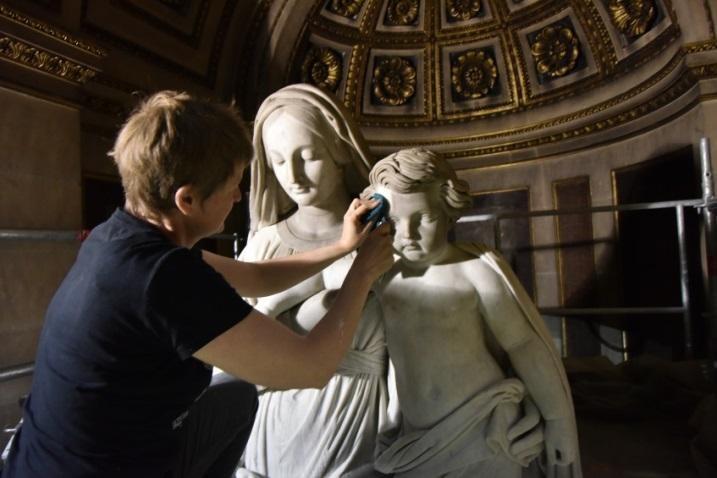 Béatrice Dubarry-Jallet Restauratrice de sculptures