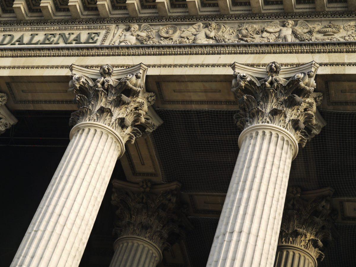 Une église en forme de temple gréco-romain
