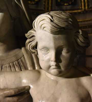 Trois statues restaurées à la Madeleine