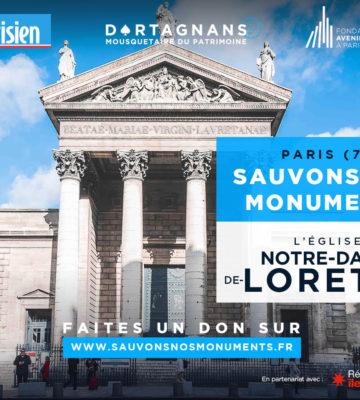 L'église Notre-Dame-de-Lorette lauréate avec 3800 votants