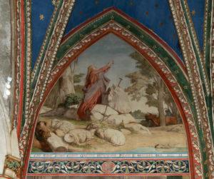 Chapelle Sainte Geneviève restaurée.   crédit: Jean-Marc Moser / Ville de Paris / COARC