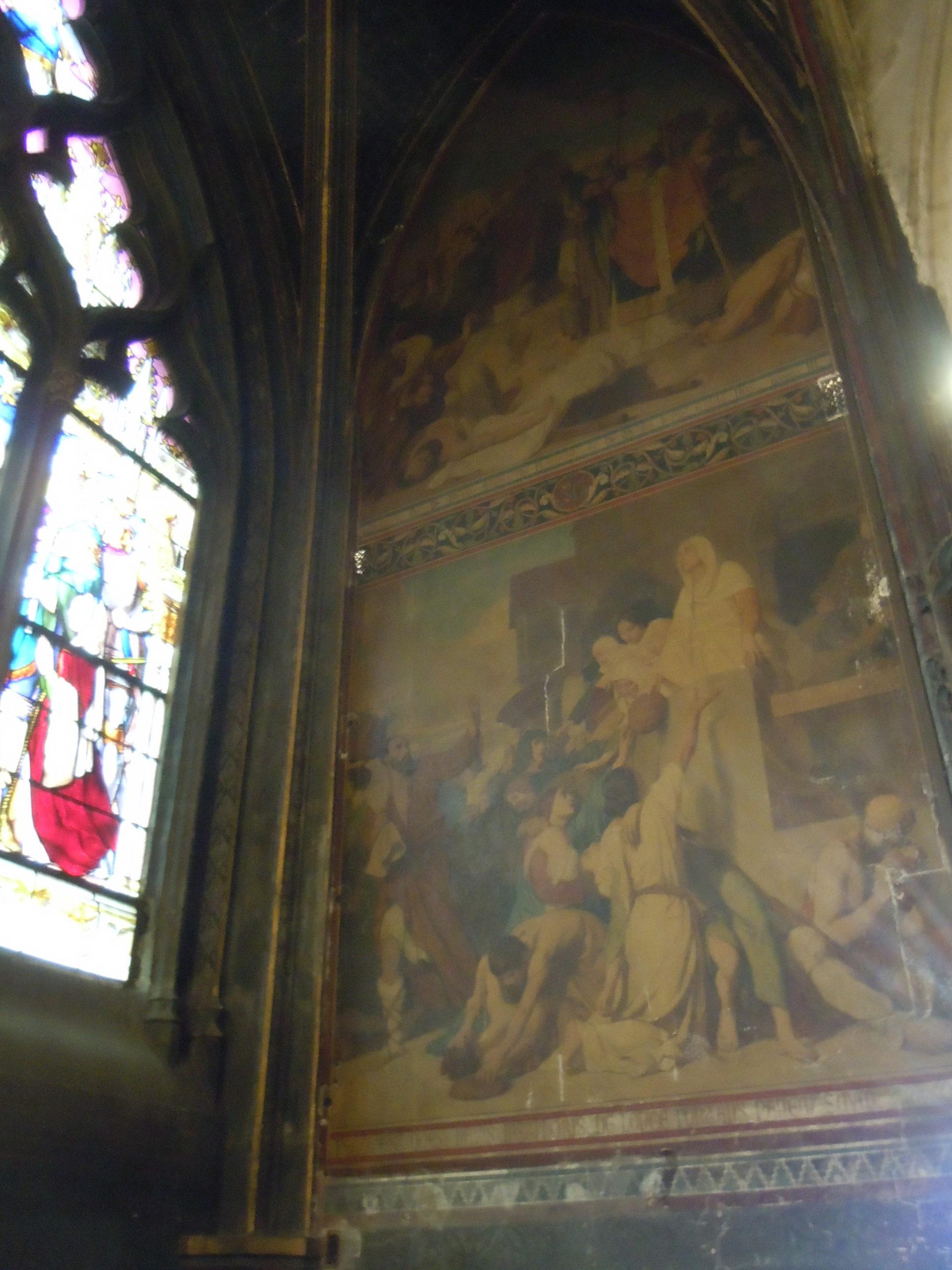 Chapelle Sainte-Geneviève avant restauration