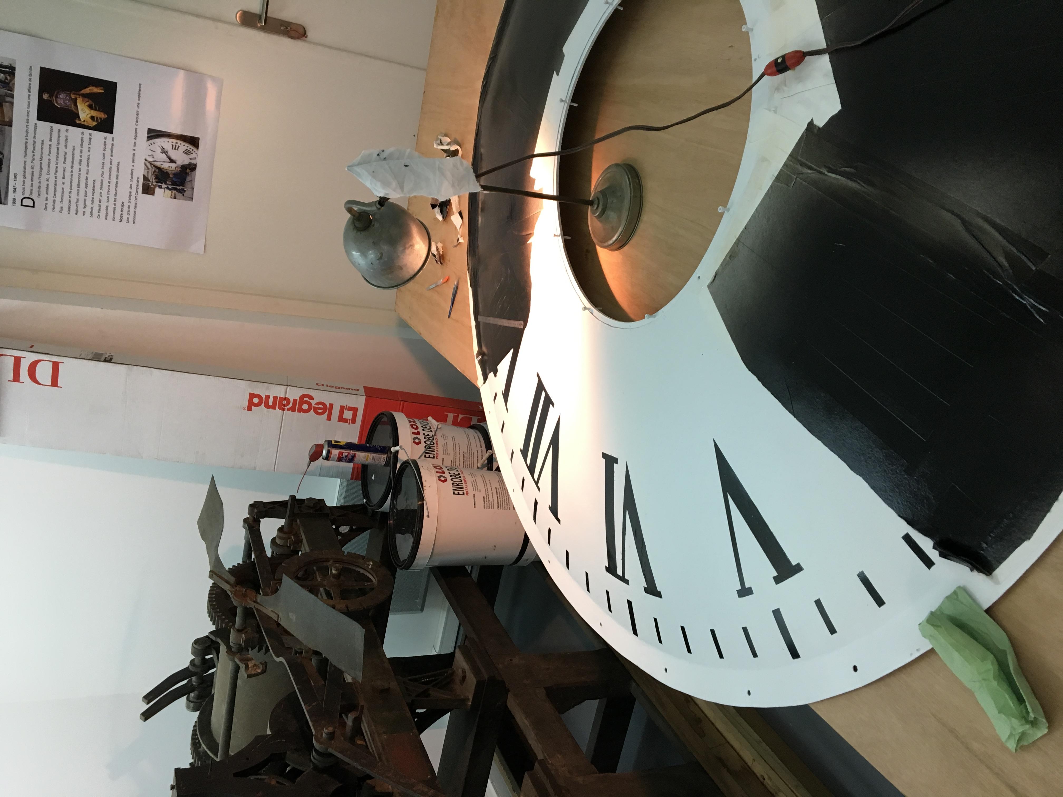 L'horloge de Saint-Louis en l'île est enfin de retour