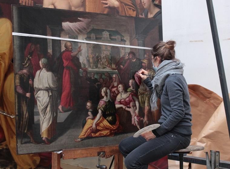Pauline Lascourrèges Restauratrice de peinture