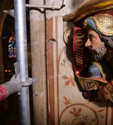 Visionnez en vidéo le chantier spectaculaire de la chapelle Sainte-Geneviève de Saint-Séverin