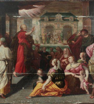 Restauration d'un chef-d'œuvre du XVIe siècle