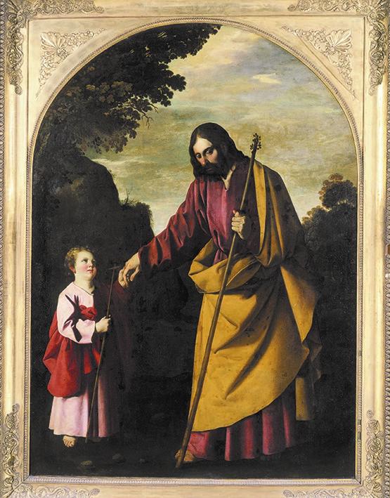 Sauvegarder une peinture de Zurbaran