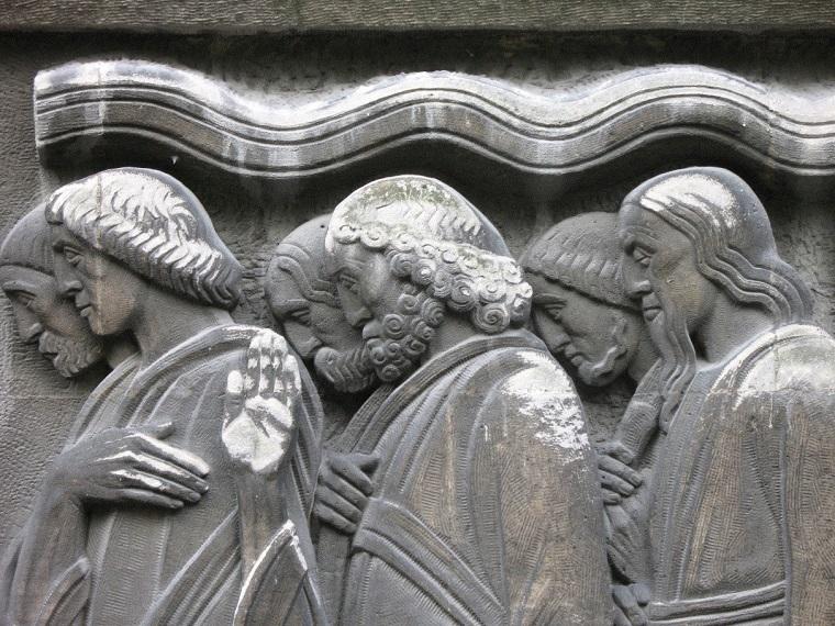 Présence de sulfo-calcins sur la pierre