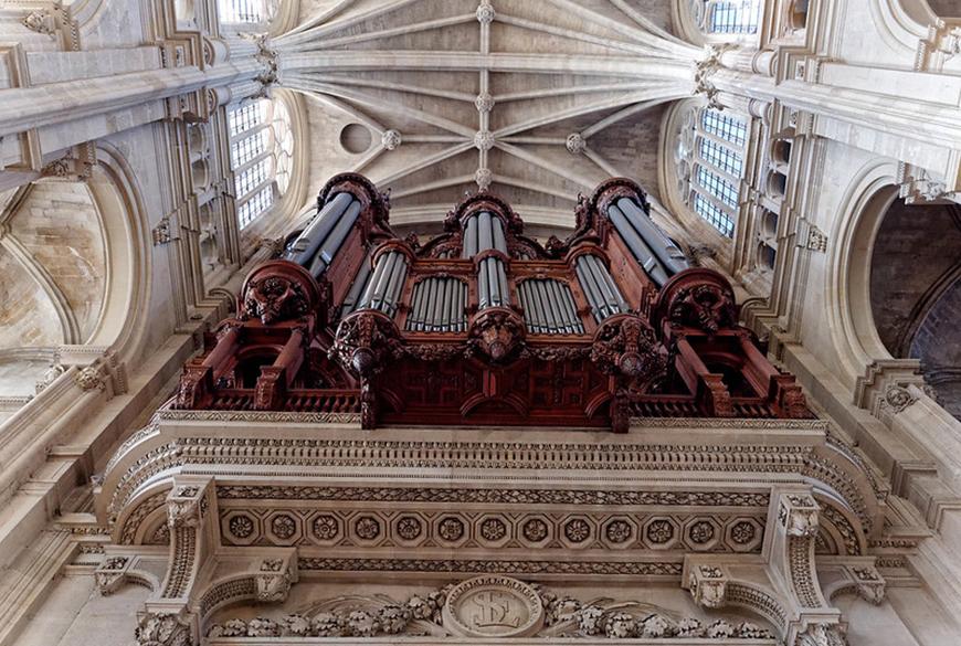 Restauration des soufflets du Grand Orgue de l'église Saint-Eustache (Ier)