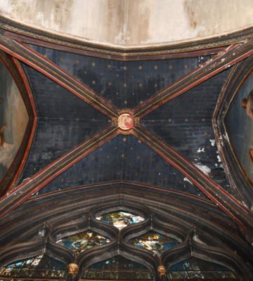 Le chantier de la chapelle Saint-Jean de Saint-Séverin a débuté